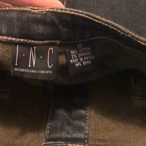 INC International Concepts Skirts - INC Denim Skirt